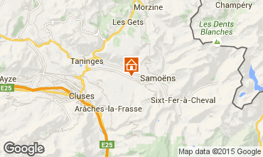 Karte Morillon Grand Massif Appartement 29272