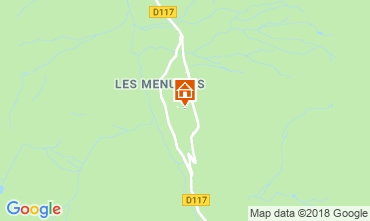 Karte Les Menuires Appartement 116861