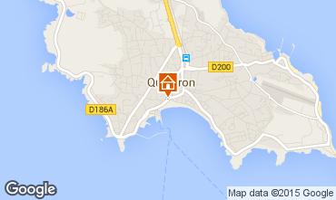 Karte Quiberon Appartement 81600