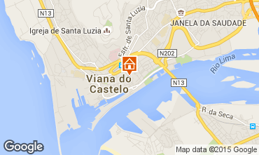 Karte Viana Do castello Appartement 73043