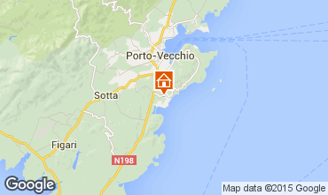 Karte Porto Vecchio Appartement 7914