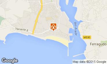 Karte Praia da Rocha Appartement 84039