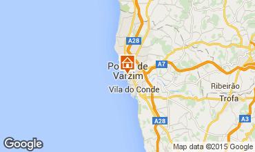 Karte Póvoa de Varzim Appartement 66746