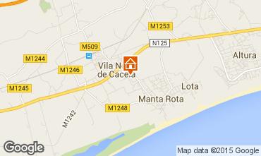 Karte Monte Gordo Appartement 75935