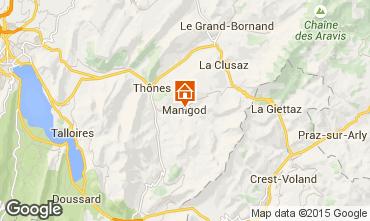 Karte Manigod-Croix Fry/L'étale-Merdassier Appartement 1567