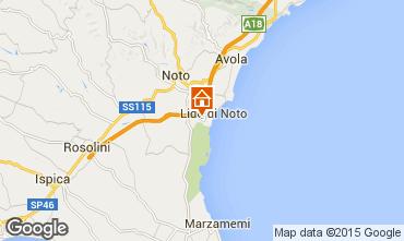 Karte Noto Villa 94840