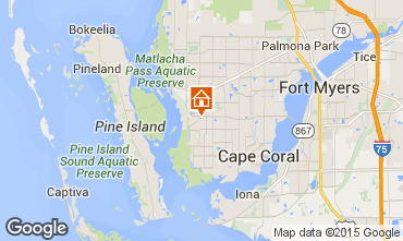 Karte Cape Coral Villa 57904