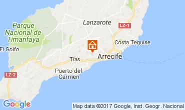 Karte San Bartolomé de Lanzarote Fremdenzimmer 101468