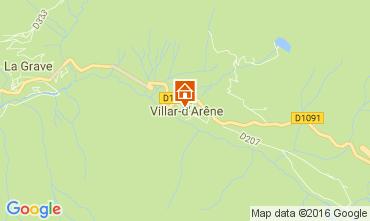 Karte La Grave - La Meije Haus 4763