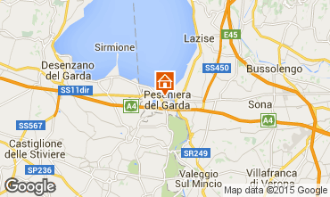 Karte Peschiera del Garda Appartement 69648