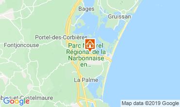 Karte Port La Nouvelle Mobil-Home 16026