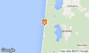 Karte Lacanau Appartement 30250