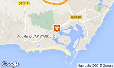 Karte Cap d'Agde Studio 6233