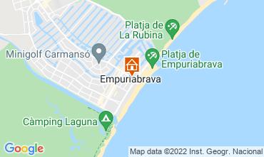 Karte Empuriabrava Appartement 114955