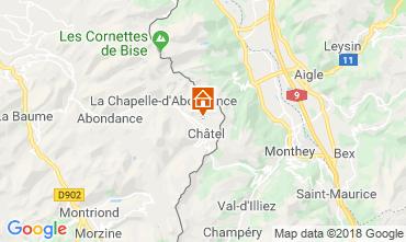 Karte Châtel Chalet 117459