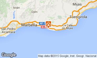Karte Marbella Appartement 100768