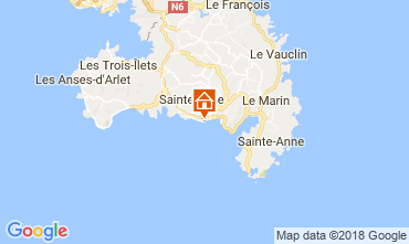 Karte Sainte Luce Studio 26400