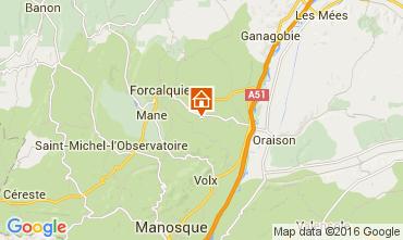 Karte Forcalquier Haus 90128