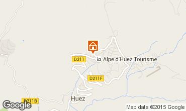 Karte Alpe d'Huez Studio 58480