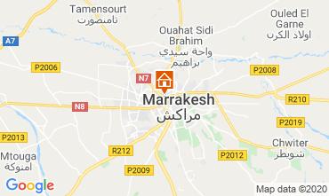 Karte Marrakesch Appartement 70324