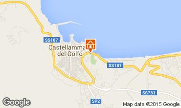 Karte Castellammare del Golfo Appartement 46504