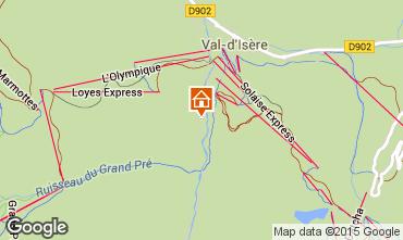 Karte Val d'Isère Appartement 3347