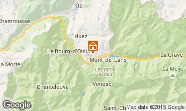 Karte Auris en Oisans Haus 66108