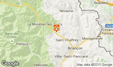 Karte Serre Chevalier Chalet 2855