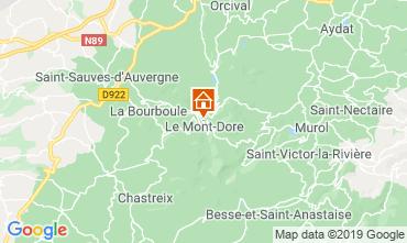 Karte Le Mont Dore Haus 39305