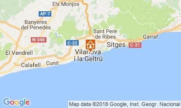 Karte Barcelona Appartement 114911