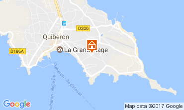 Karte Quiberon Appartement 107693