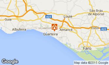 Karte Vilamoura Villa 11206