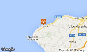 Karte Tropea Appartement 72629