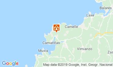 Karte A Coruña Ferienunterkunft auf dem Land 86885