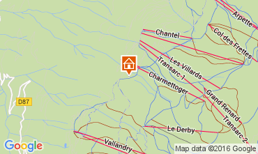 Karte Les Arcs Chalet 131