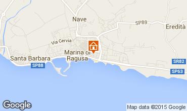 Karte Marina di Ragusa Appartement 94320