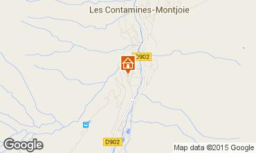 Karte Les Contamines Montjoie Studio 50448