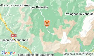 Karte Les Menuires Appartement 52183