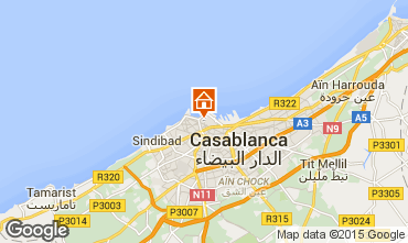 Karte Casablanca Appartement 31988