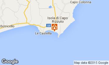 Karte Isola di Capo Rizzuto Appartement 54877