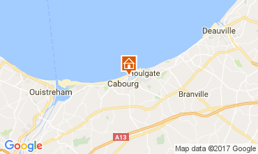 Karte Cabourg Appartement 111139