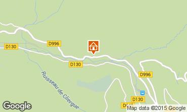 Karte Le Mont Dore Chalet 80189
