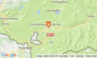 Karte Font Romeu Appartement 4171