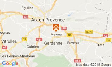 Karte Aix en Provence Haus 113292