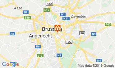 Karte Brüssel Appartement 118001