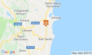 Karte Tortolì Mobil-Home 119763