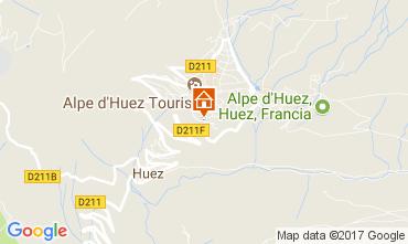 Karte Alpe d'Huez Appartement 112014