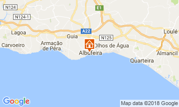 Karte Albufeira Haus 113709