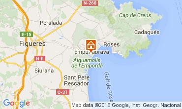 Karte Empuriabrava Haus 104033