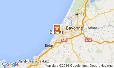 Karte Biarritz Studio 105462